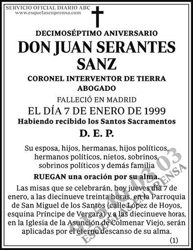 Juan Serantes Sanz